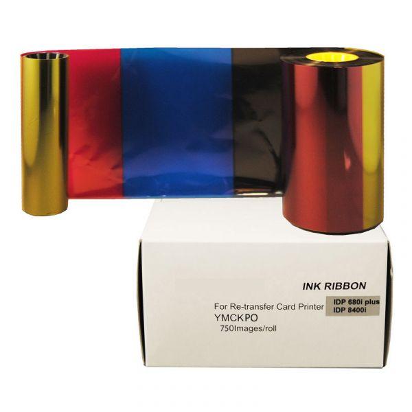 YMCKPO 4-Farb Folie inkl. Peel-Off-Segment