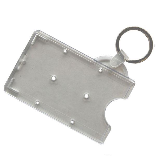 Kartenhülle mit Schlüsselring