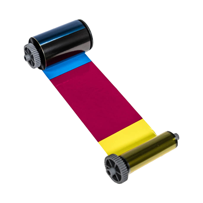 4-Farb-Folie inkl. Overlay und zweiter Schwarz-Zone