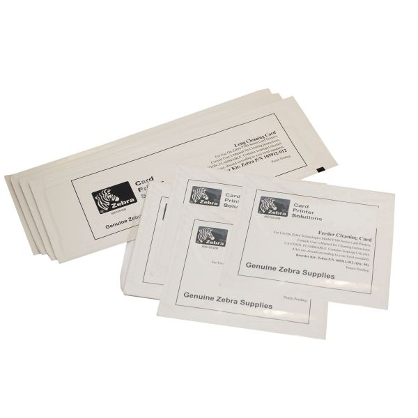 Zebra Long Cleaning Card 105912-912 for P100 Series Card Printers