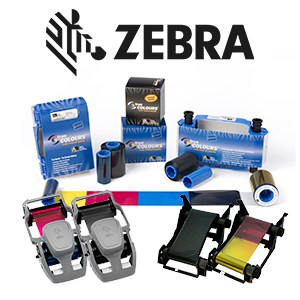 Farbbänder Zebra Kartendrucker